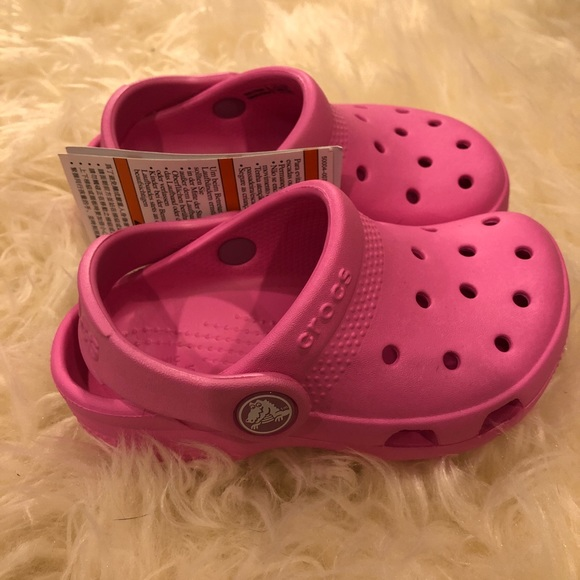 6ef488086f51 Pink CROCS for Toddlers